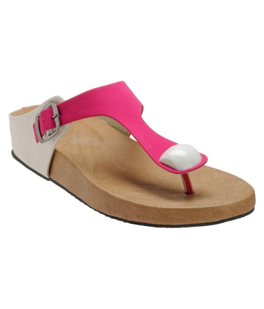 Zachho Pink Flats