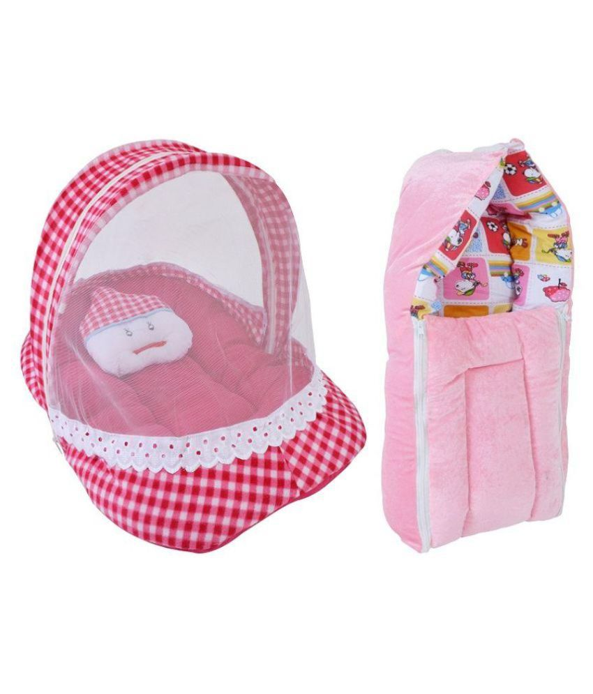 Chhote Janab Pink Bedding Set for Babies