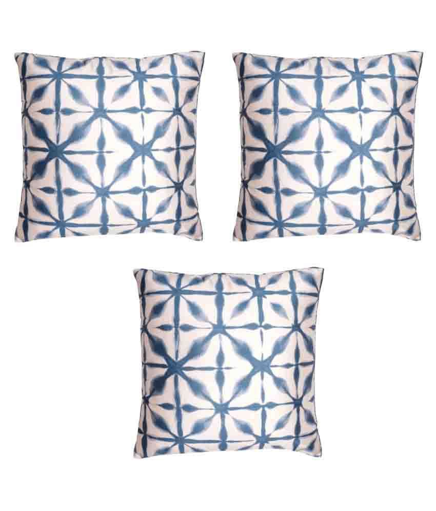 Homewards Set of 3 Polyester Cushion Covers