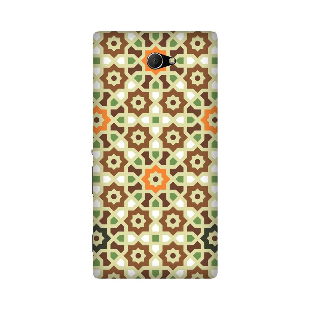 Sony Xperia M2 Printed Cover By Armourshield