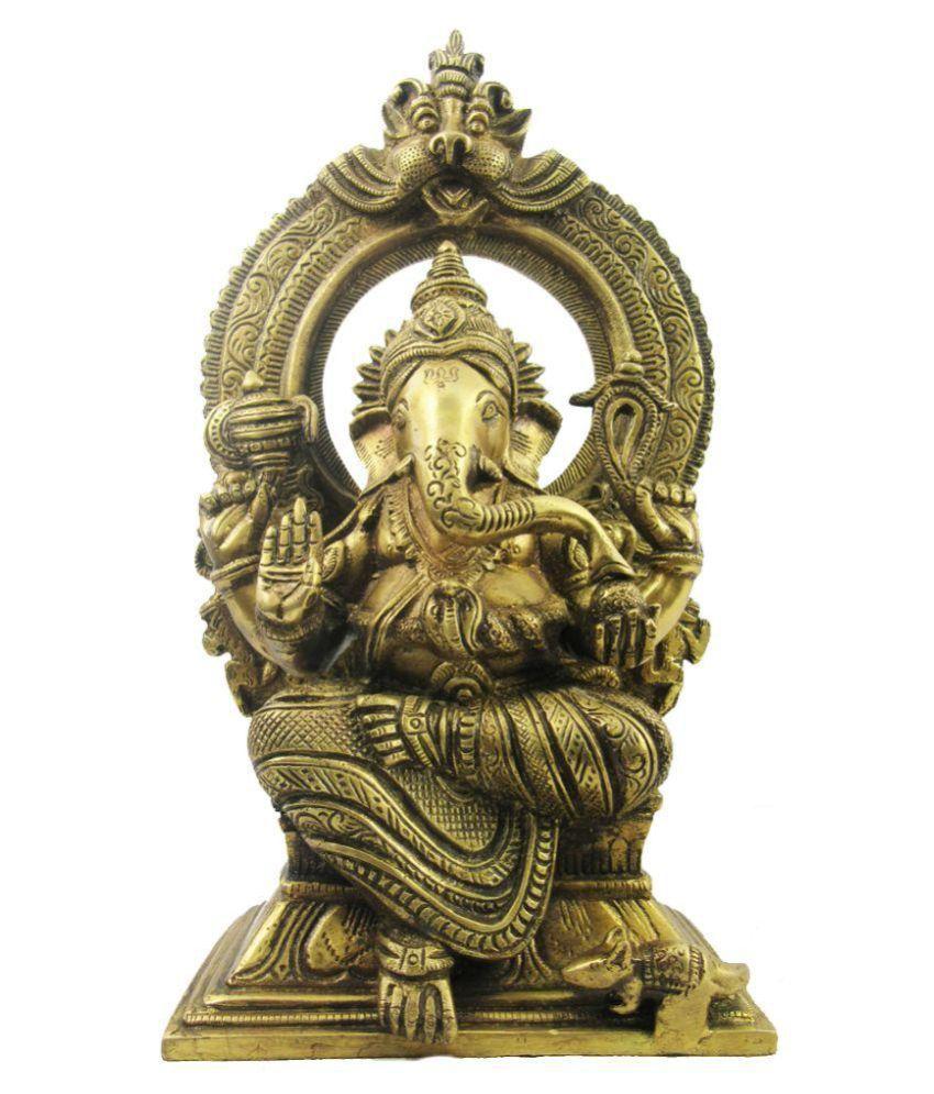Indian Arts Museum Ganesha Brass Idol