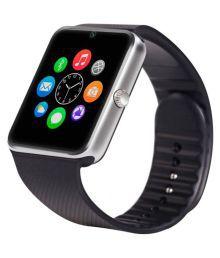 Life Like Gt08 Bluetooth Smart Watch With Sim & Tf Card Slot - Black