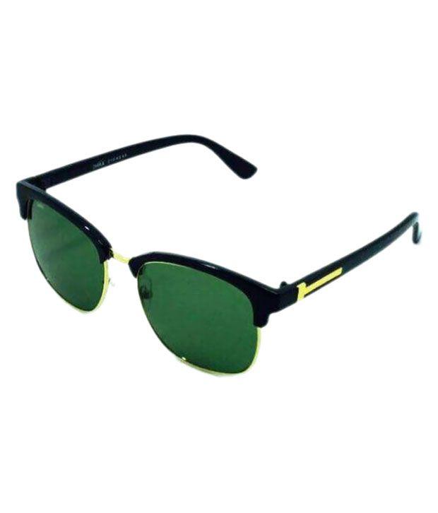 Jmak Green Panto Sunglasses ( 7073 )