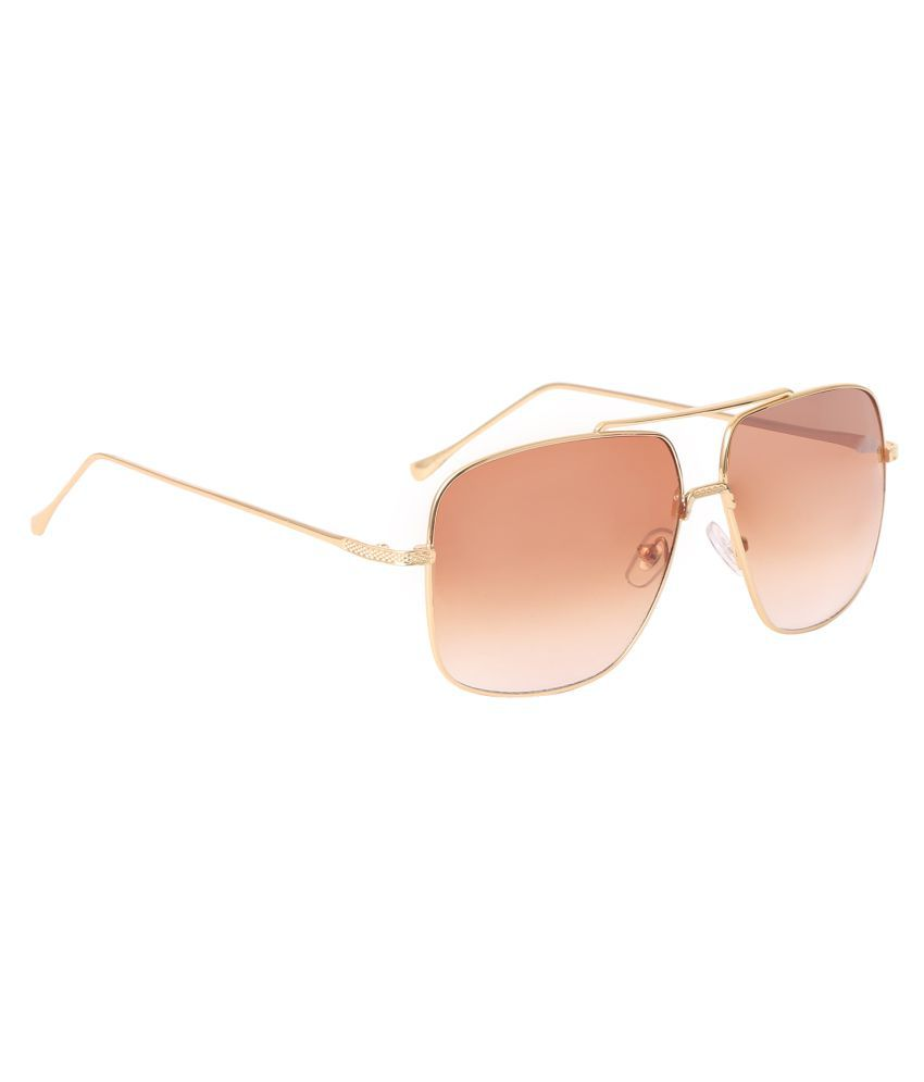 HH Brown Square Sunglasses