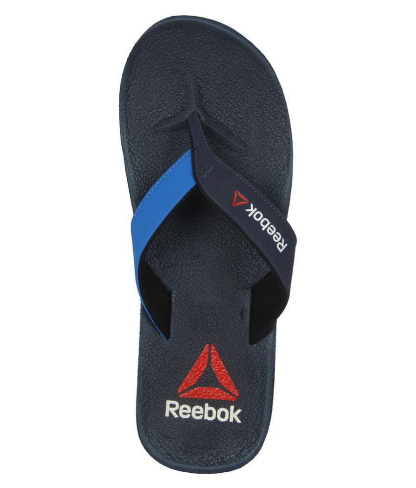 7b783c6b09275 Reebok Adventure Navy Thong Flip Flop Price in India- Buy Reebok ...