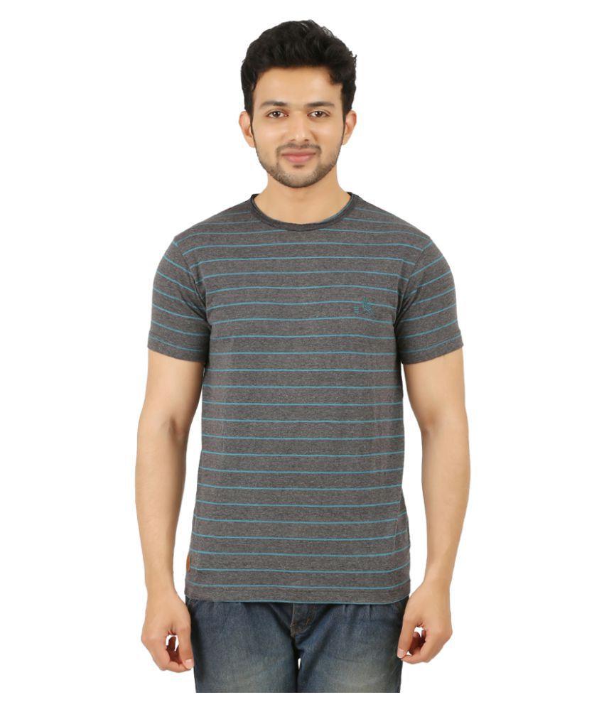 Rollear Grey Round T-Shirt