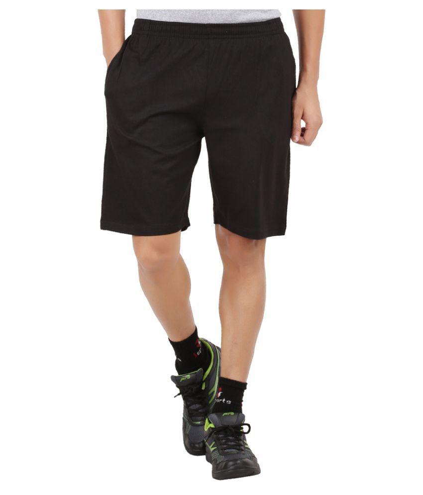 SRK Black Shorts