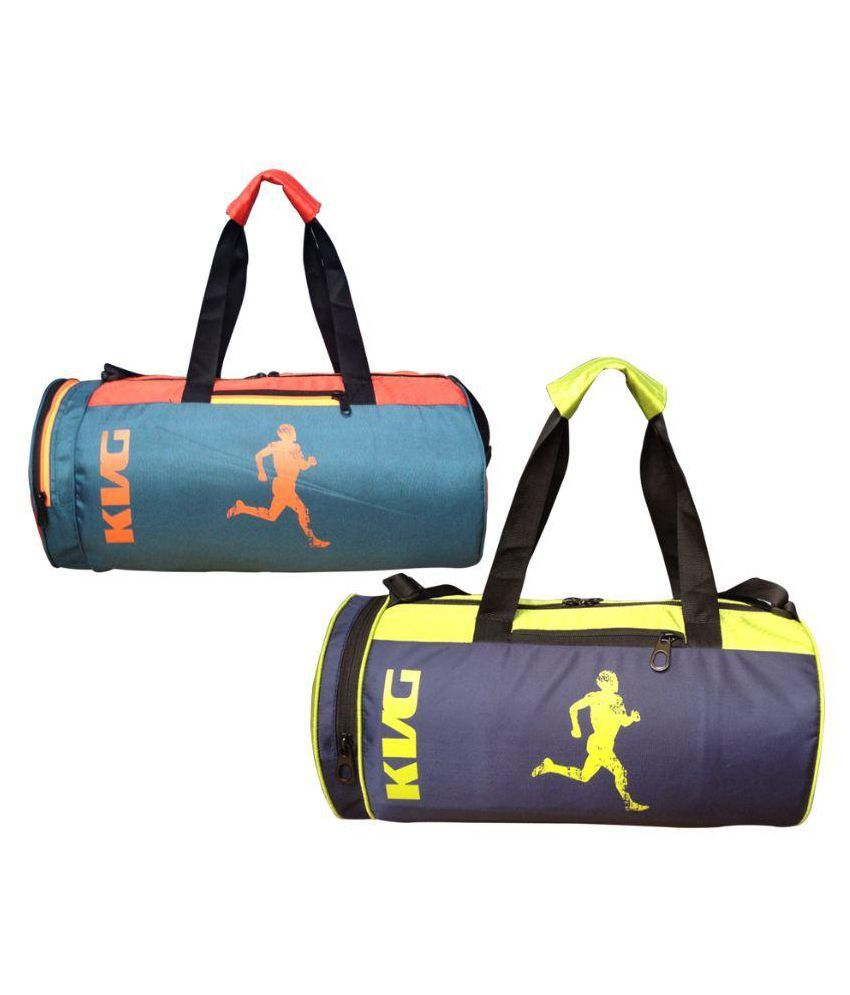 KVG Multicolor Gym Bag