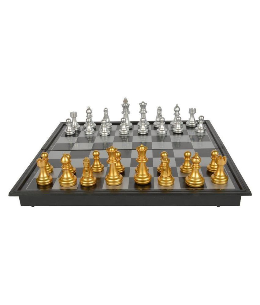 Toy Corner Combo Pack of Wooden & Plastic Chess Sets