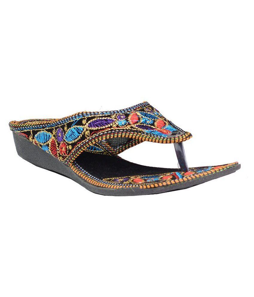 DK Shoes Black Flat Flats