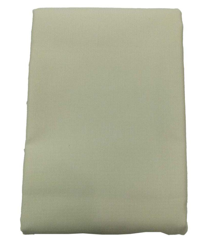 Arvind Beige 100 Percent Cotton Unstitched Pant Pc