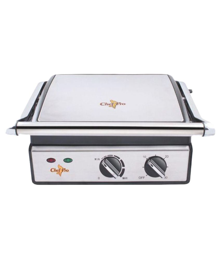 Chef-Pro-Panini-Grill-CPG833-Electric-Barbeque-Grill