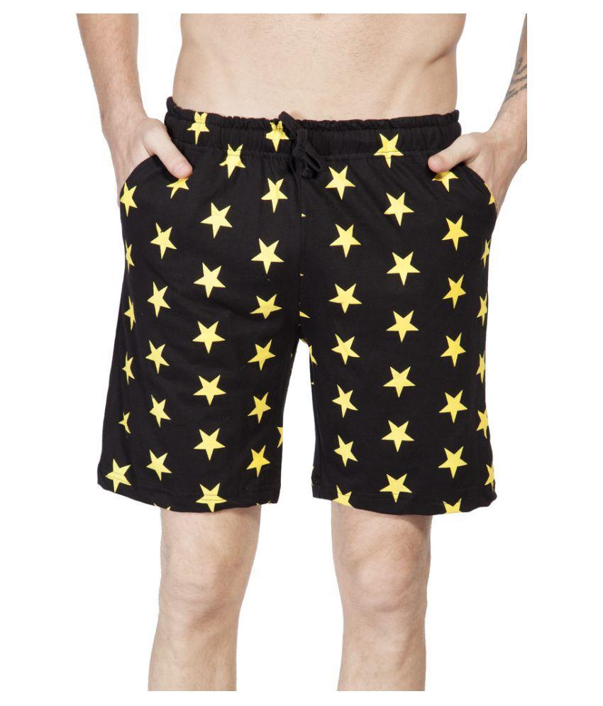 Clifton Black Shorts