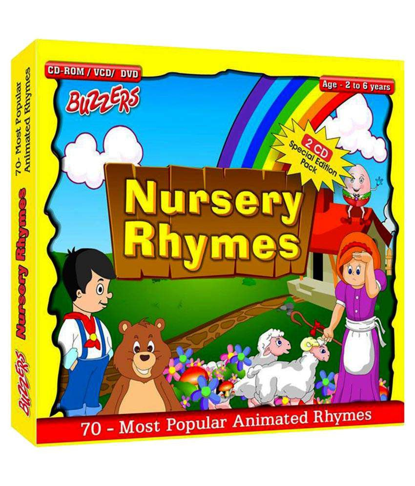 Buzzers Nursery Rhymes Spl Edition Dvd