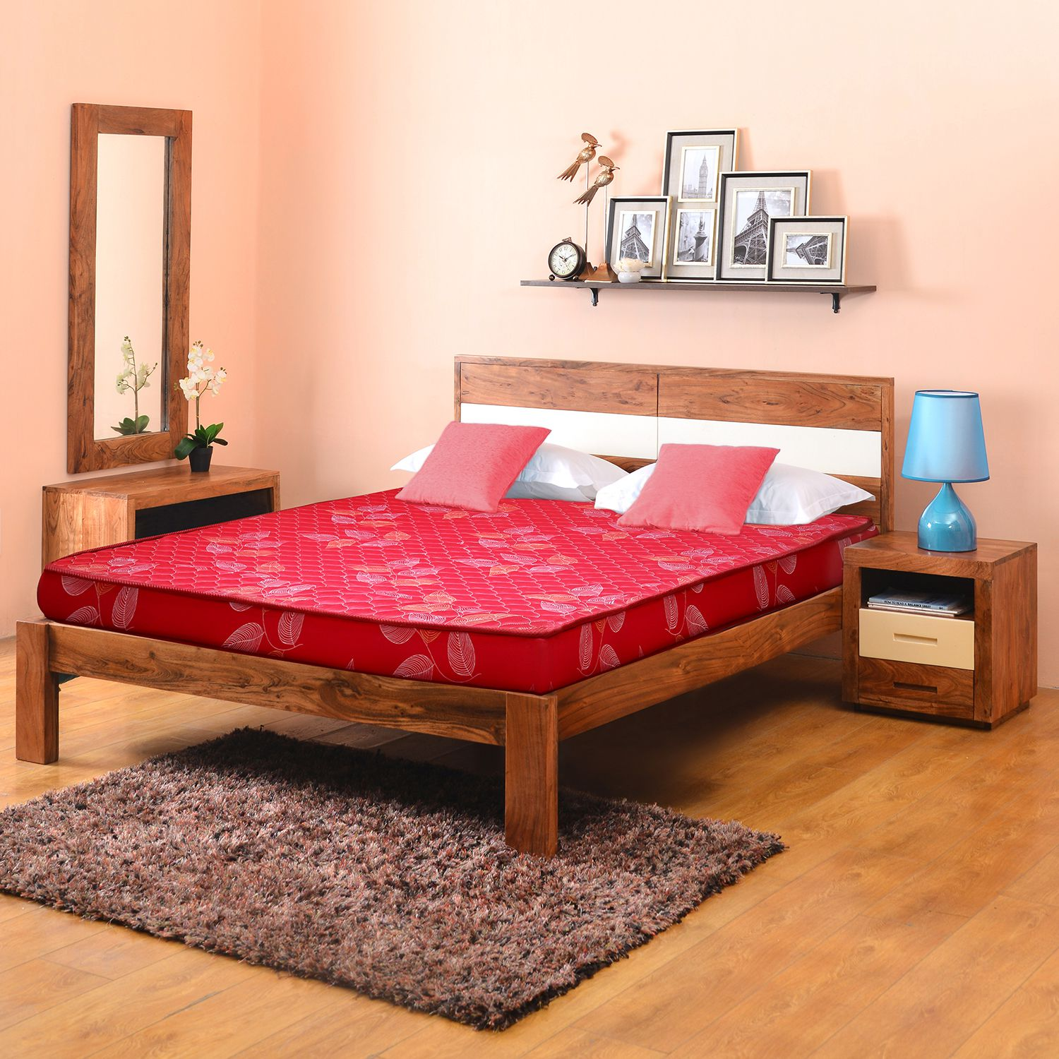 @home Venus Queen Size Bed with Mattress - Buy @home Venus
