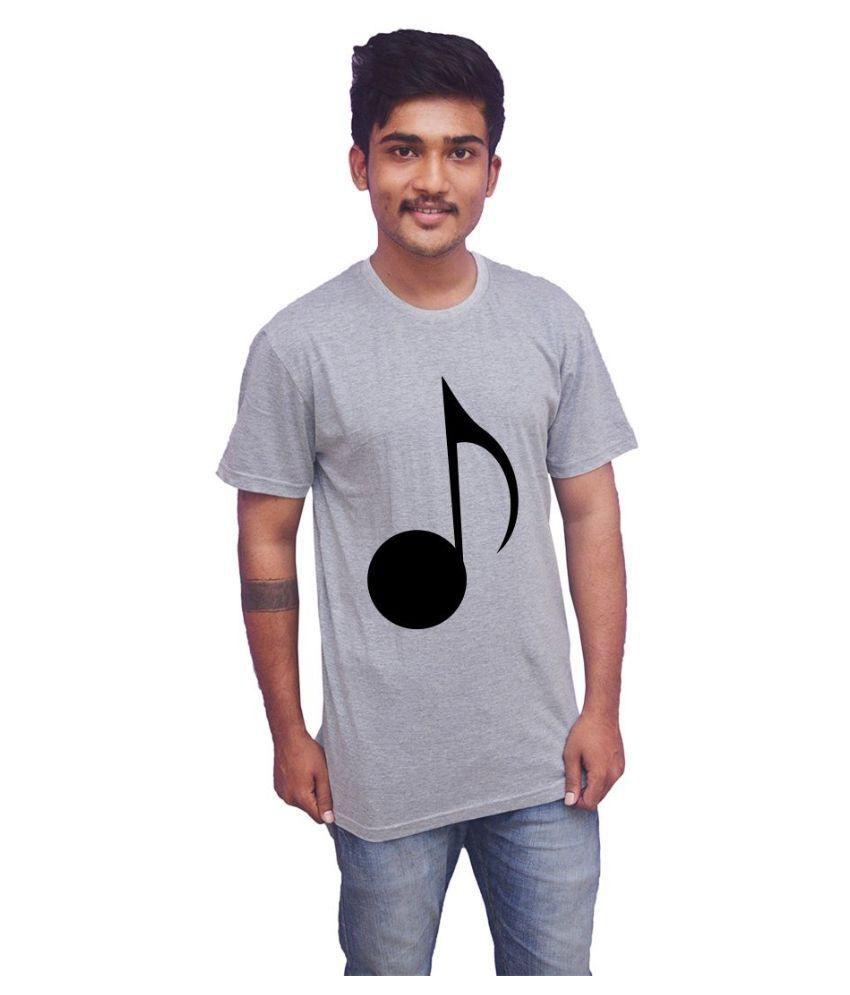 Uniplanet Grey Round T-Shirt