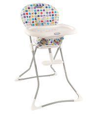 Graco Multicolour Metal High Chair