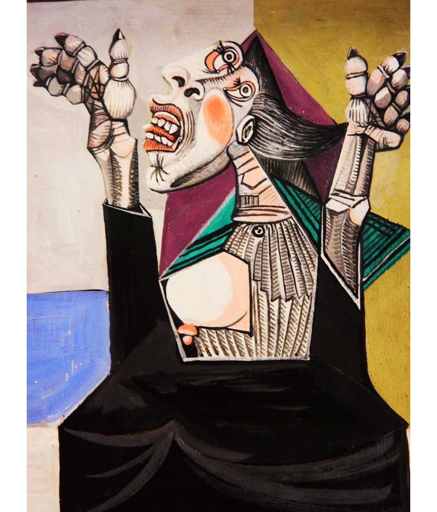 Tallenge Picasso Canvas Art Prints Without Frame Single Piece