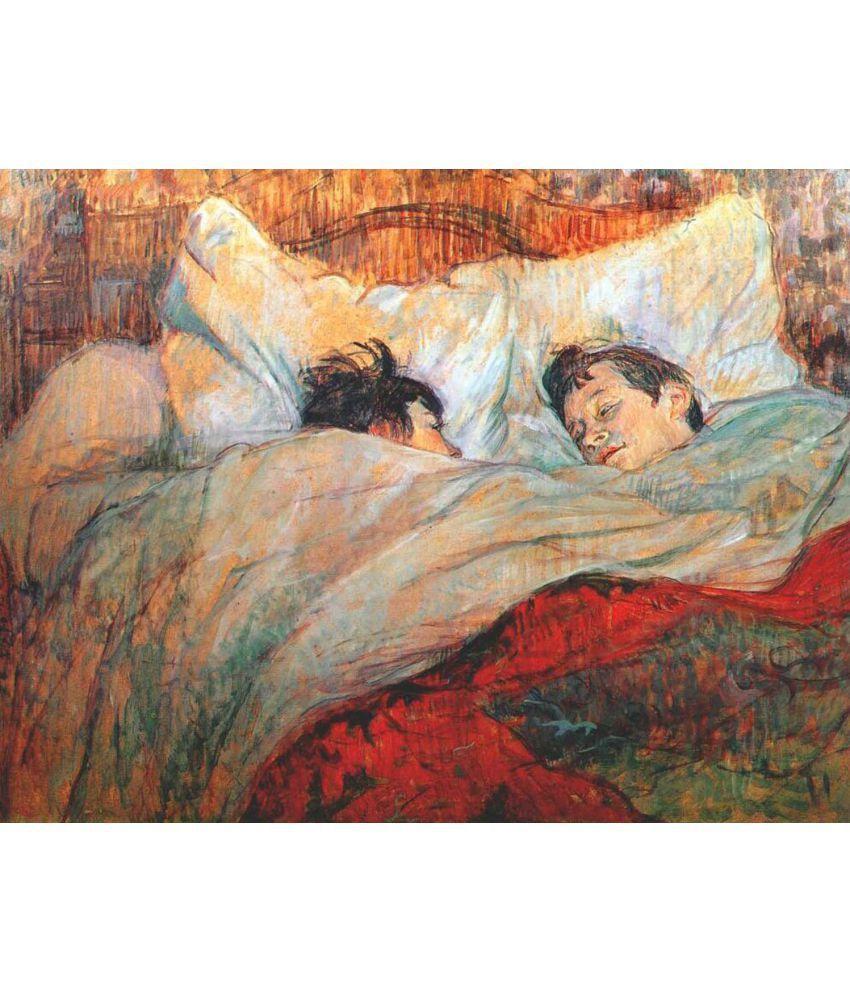 Tallenge Henri de Toulouse-Lautrec Canvas Art Prints Without Frame Single Piece