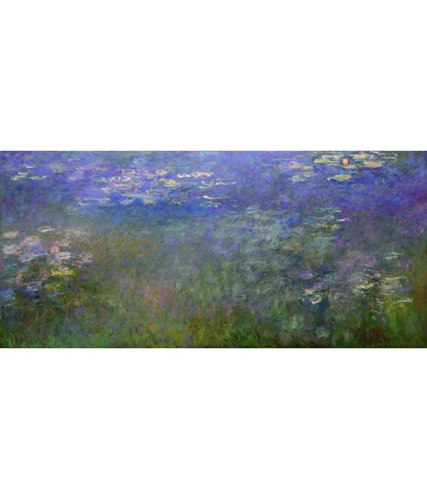 Tallenge  Claude Monet - Water Lilies  Canvas Art Prints Without Frame Single Piece