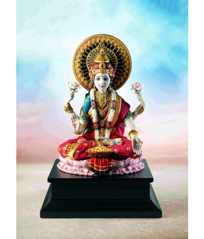 Tallenge Goddess Lakshmi  Canvas Art Prints Without Frame Single Piece