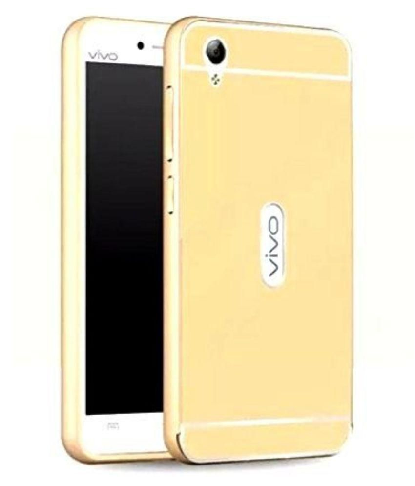 hot sale online d6da5 3b3a3 Vivo Y51L Cover by BLJ - Golden