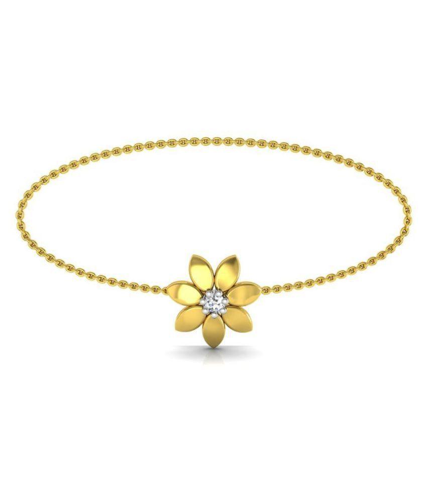 47f1017e0f5 Avsar 18k Gold Bracelet: Buy Avsar 18k Gold Bracelet Online in India on  Snapdeal