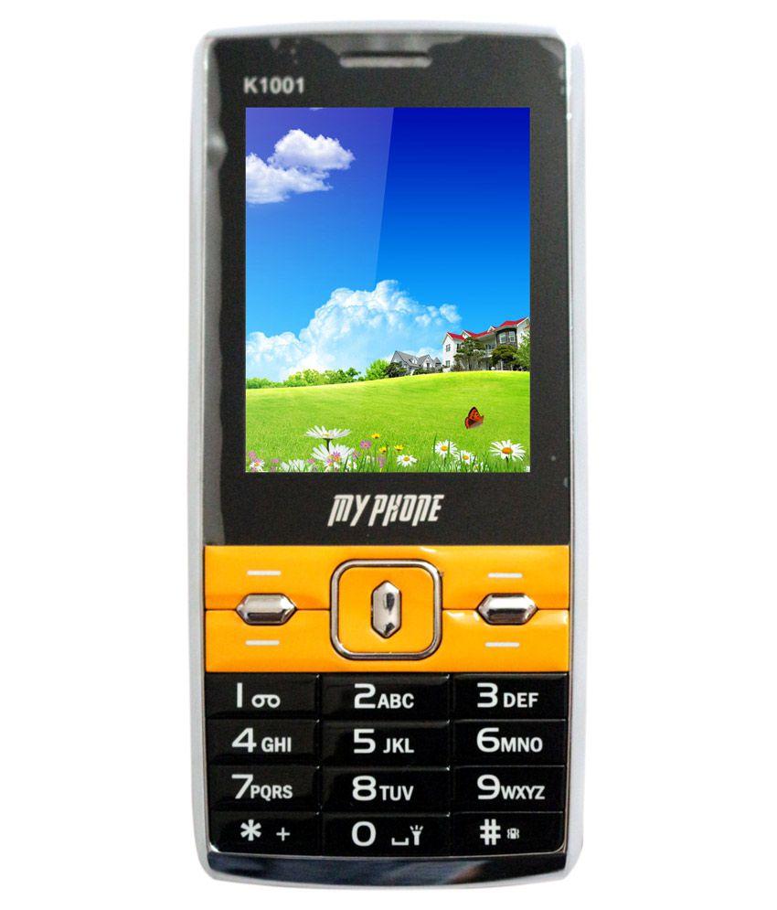 My Phone K 1001 4GB and Below Fruity Orange