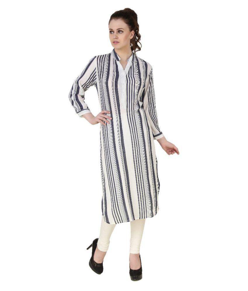 b4d541e36 Brand Me Up Multicoloured Cotton Shirt style Kurti