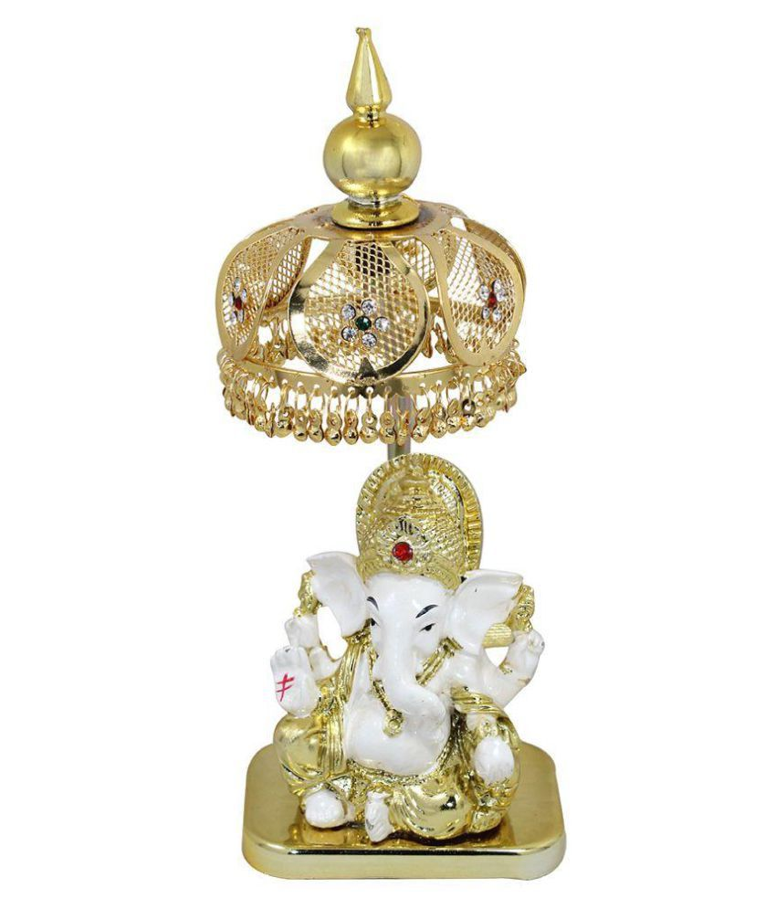 Raj Ganesha Fabric Idol