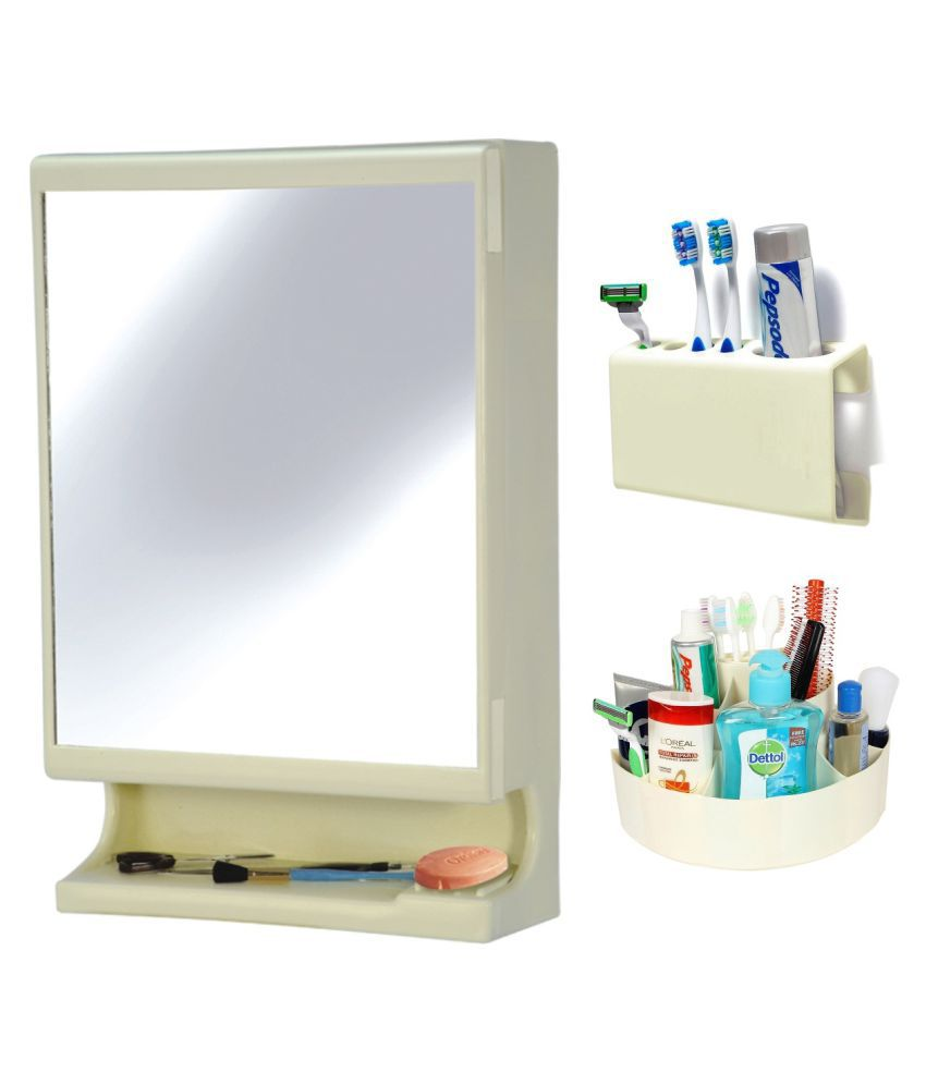 buy ciplaplast combo of new look multipurpose bathroom mirror