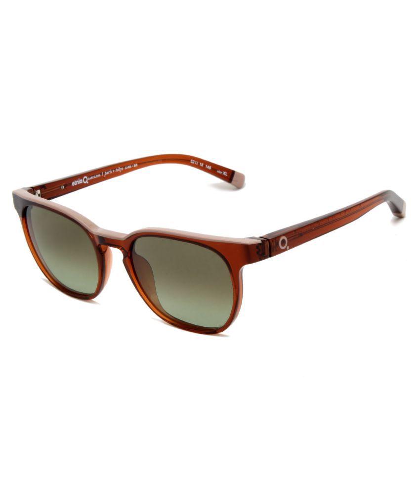 Etnia Barcelona Green Square Sunglasses ( JL406-BR ) - Buy Etnia ...