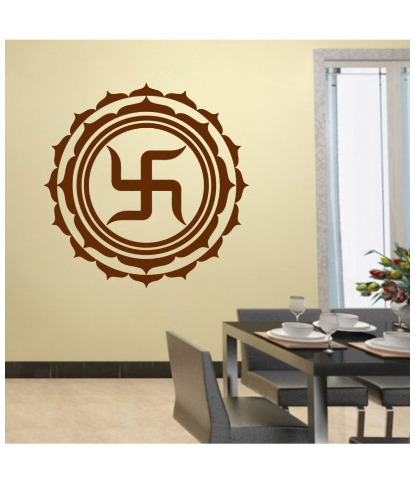 Decor Villa Swastika Pvc Wall Stickers Buy Decor Villa Swastika
