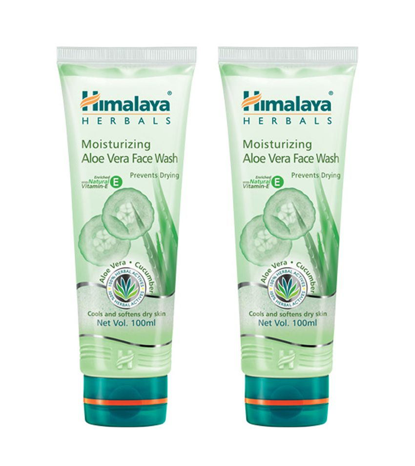 d7776a2ce9d1 Himalaya Moisturising Aloe Vera Face Wash Pack Of 2X100 ml