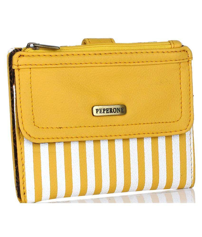 Peperone Yellow Wallet