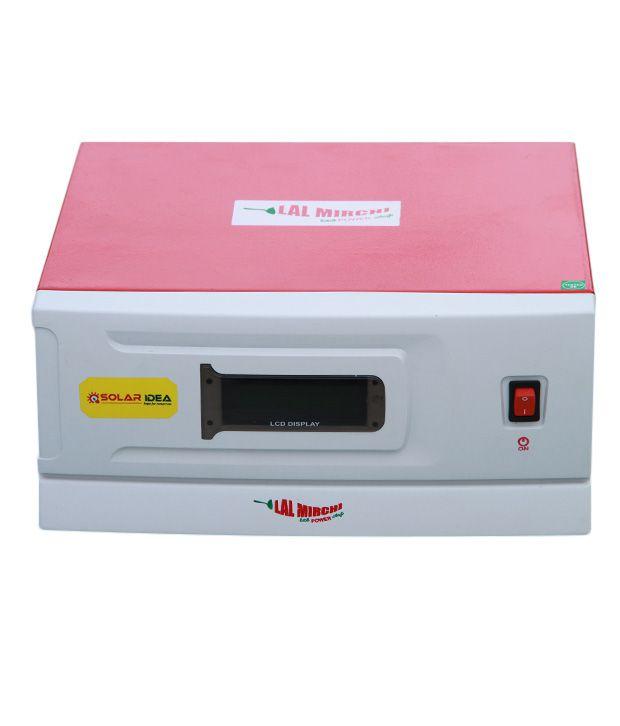 Solar-Idea-Lal-Mirchi-500VA-12V-Hybrid-Solar-PCU/Inverter