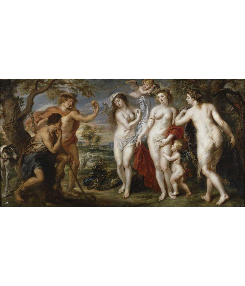 Tallenge  Peter Paul Rubens - Judgement Of Paris  Canvas Art Prints Without Frame Single Piece