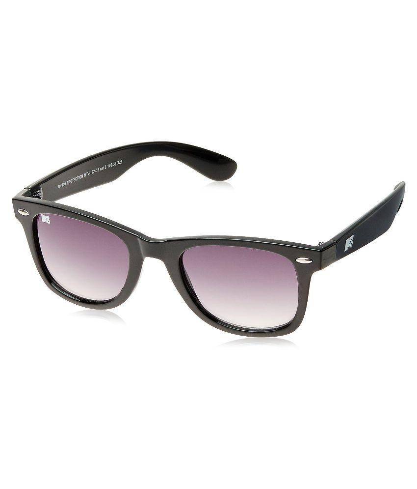 MTV Brown Wayfarer Sunglasses ( No )