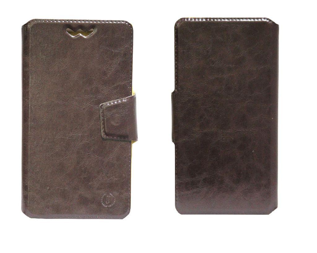 Celkon Millennium Dazzle Q44 Flip Cover by Jojo - Brown