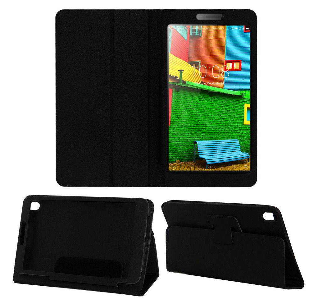 Lenovo Phab Plus Flip Cover By ACM Black - Cases & Covers Online at Low Prices | Snapdeal India