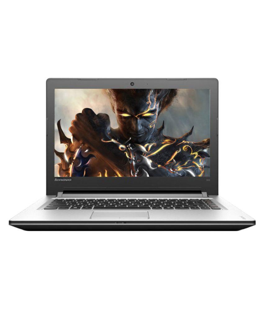Lenovo Ideapad 300 (80Q700DYIN) (6th Gen Intel Core i5- 4GB RAM- 1TB HDD- 39.62cm (15.6)- Win 10- 2GB Graphics) (Silver) Snapdeal Rs. 47990.00