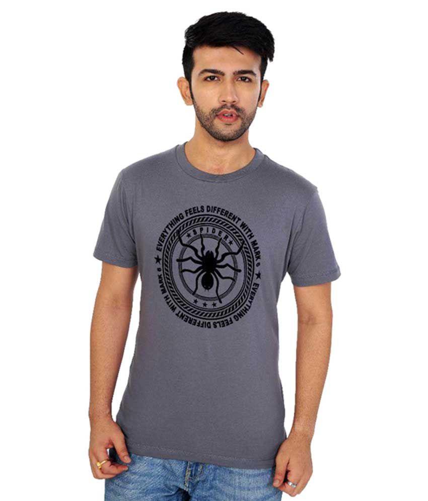 Mark6 Grey Round T-Shirt