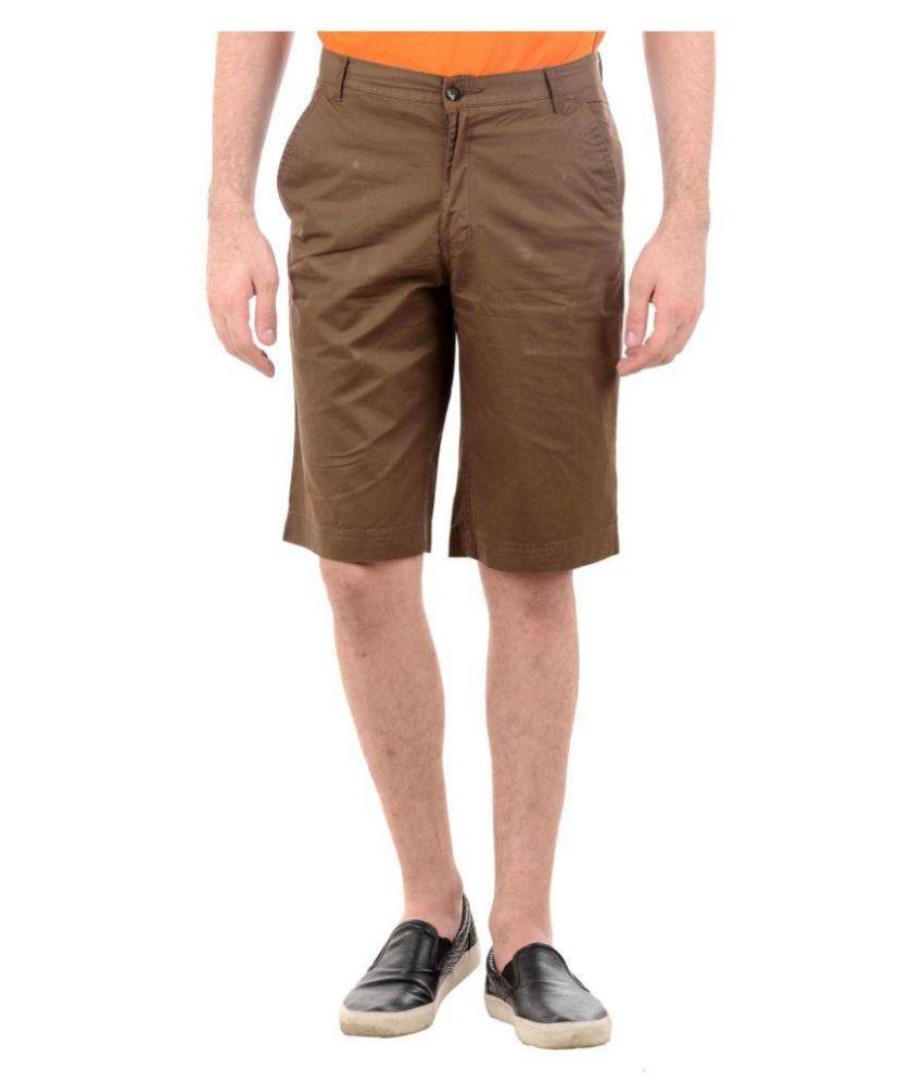 SRK Brown Shorts