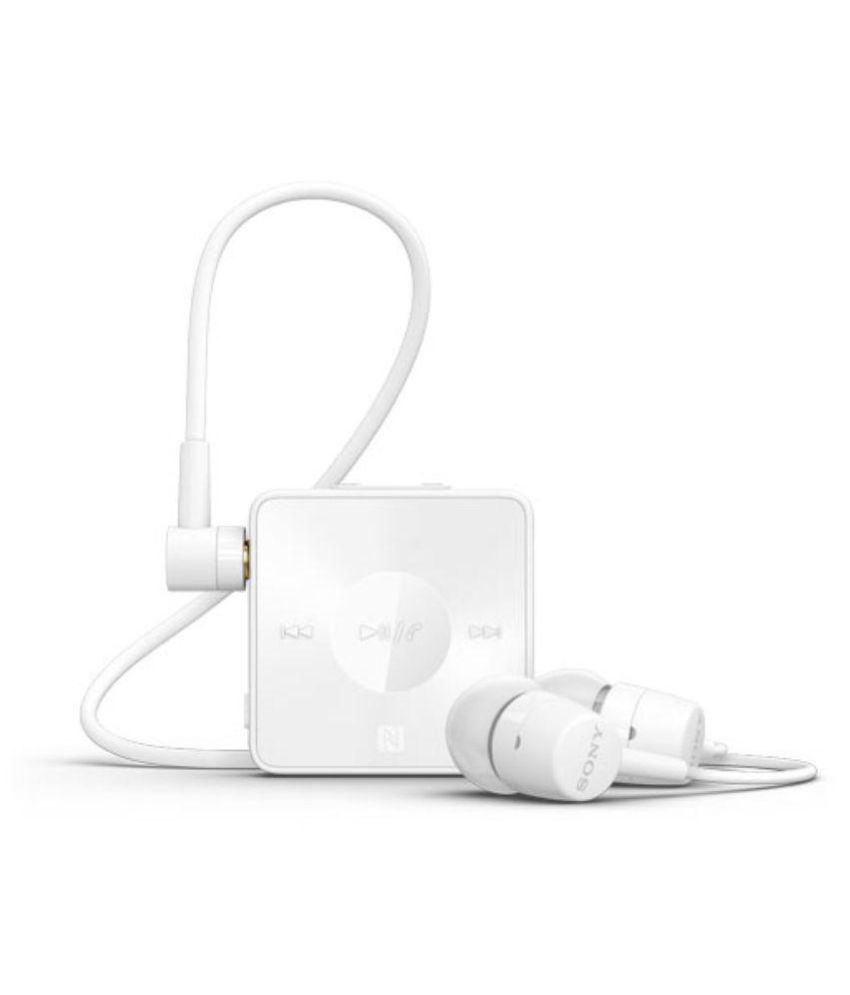 2b51a25ae35 Sony SBH20 Bluetooth - White - Bluetooth Headsets Online at Low Prices |  Snapdeal India