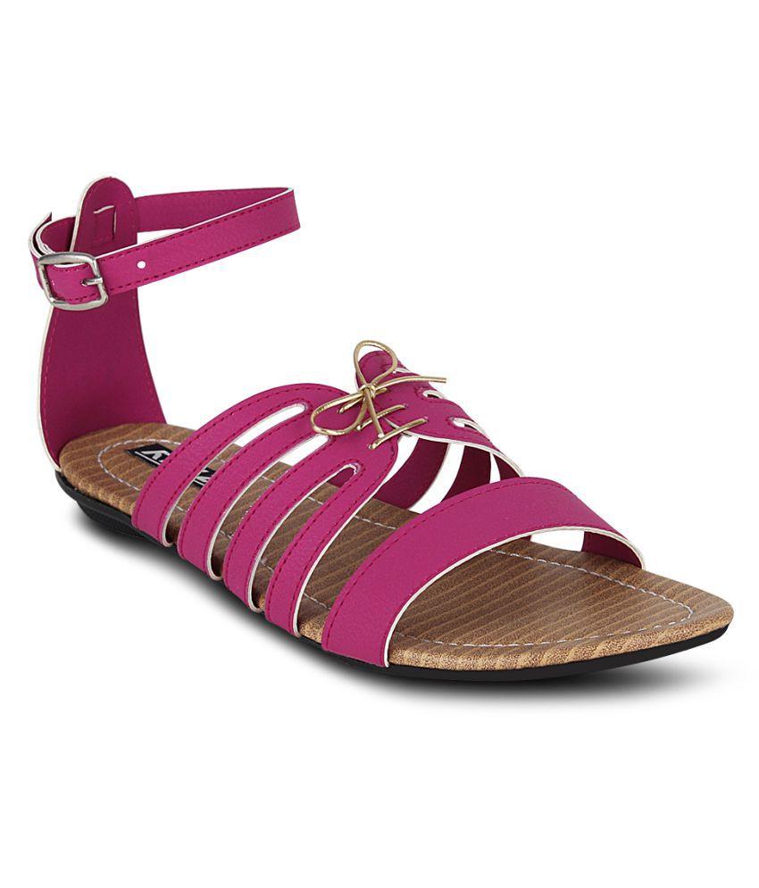 Kielz Pink Flats