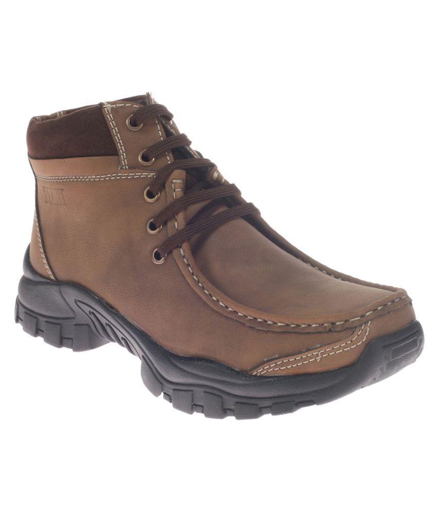 Khadim's Brown Casual Boot