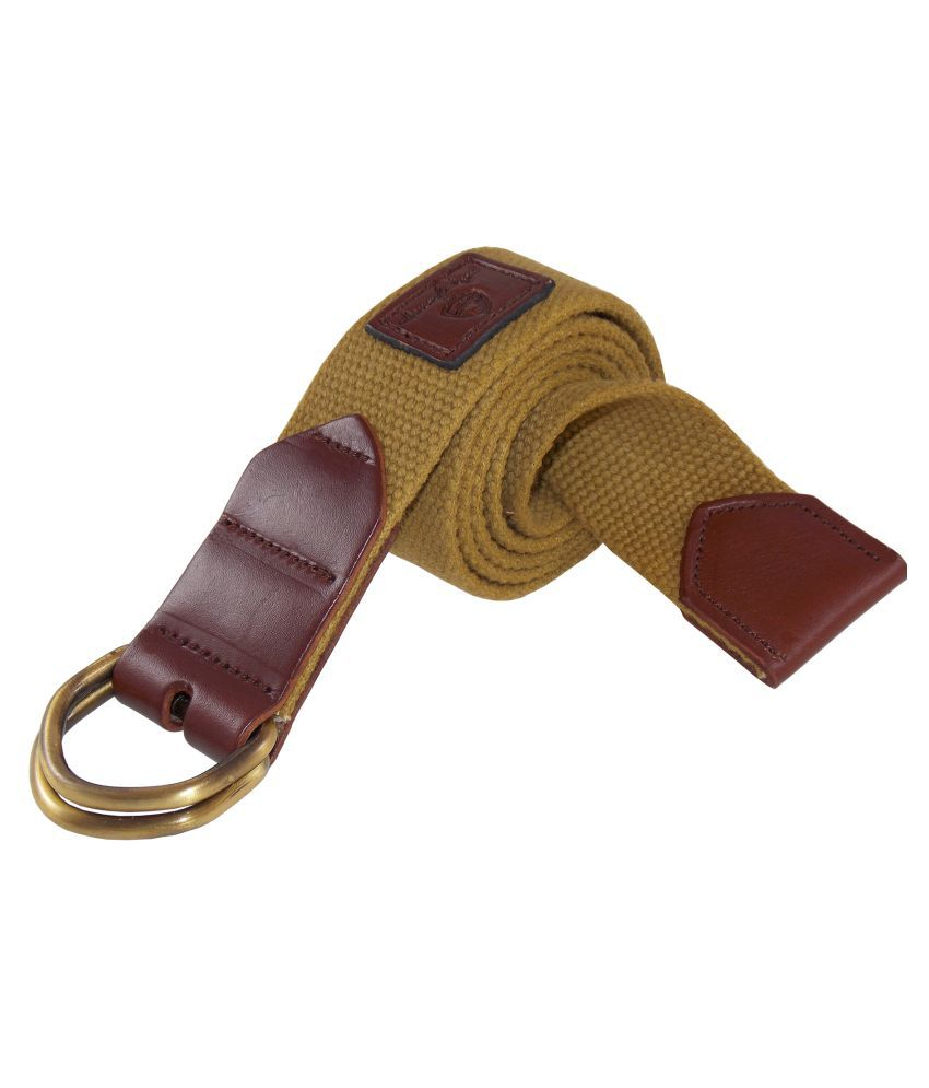 HoneyBadger Khaki Canvas Casual Belts