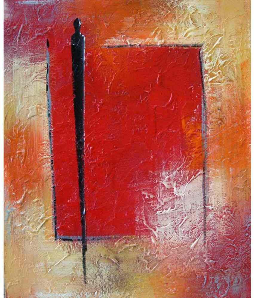 Vitalwalls Abstract Painting  - Art Print on Imported White Polypapier. Paper Art Prints Without Frame Single Piece