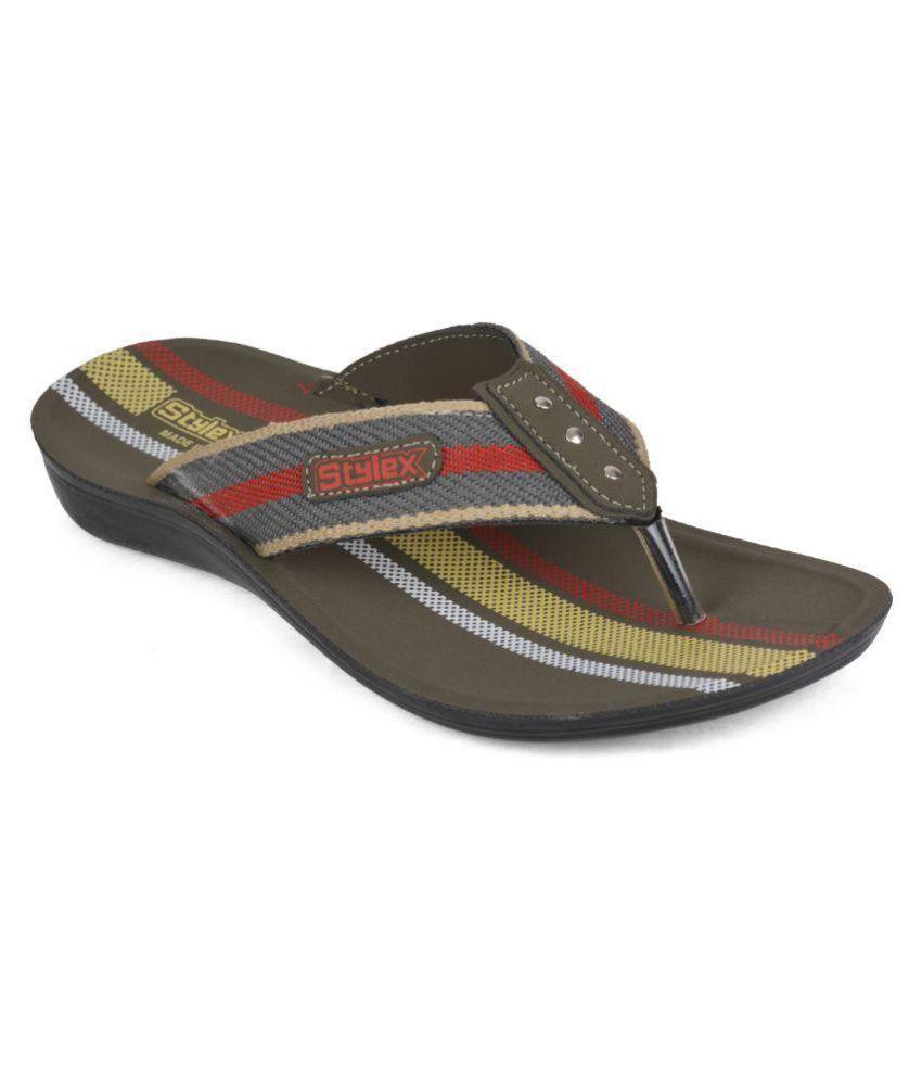 Wega Life Gray Slippers