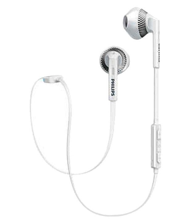 3dd0c36e990 Philips SHB5250WT/00 In Ear Wireless Earphones With Mic White - Buy Philips  SHB5250WT/00 In Ear Wireless Earphones With Mic White Online at Best Prices  in ...
